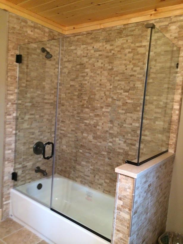 90 Degree Frameless Showers Glass Shower Doors