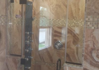 Custom Glass Shower 1