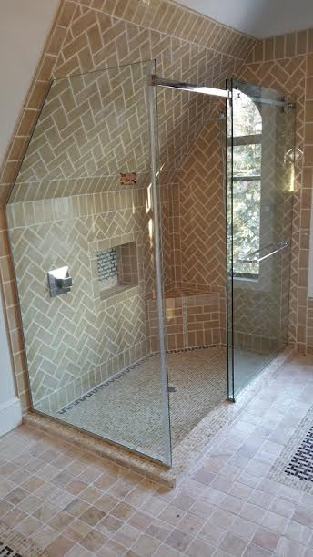 Custom Glass Shower 36