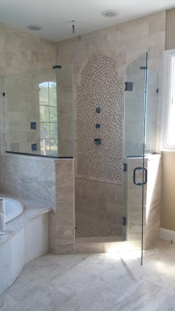 Custom Glass Shower 76