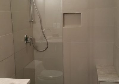 Fixed Glass Shower Panel 4