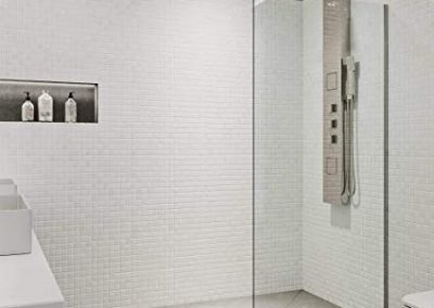 Fixed Glass Shower Panel 6