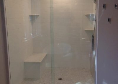 frameless-sliding shower-door
